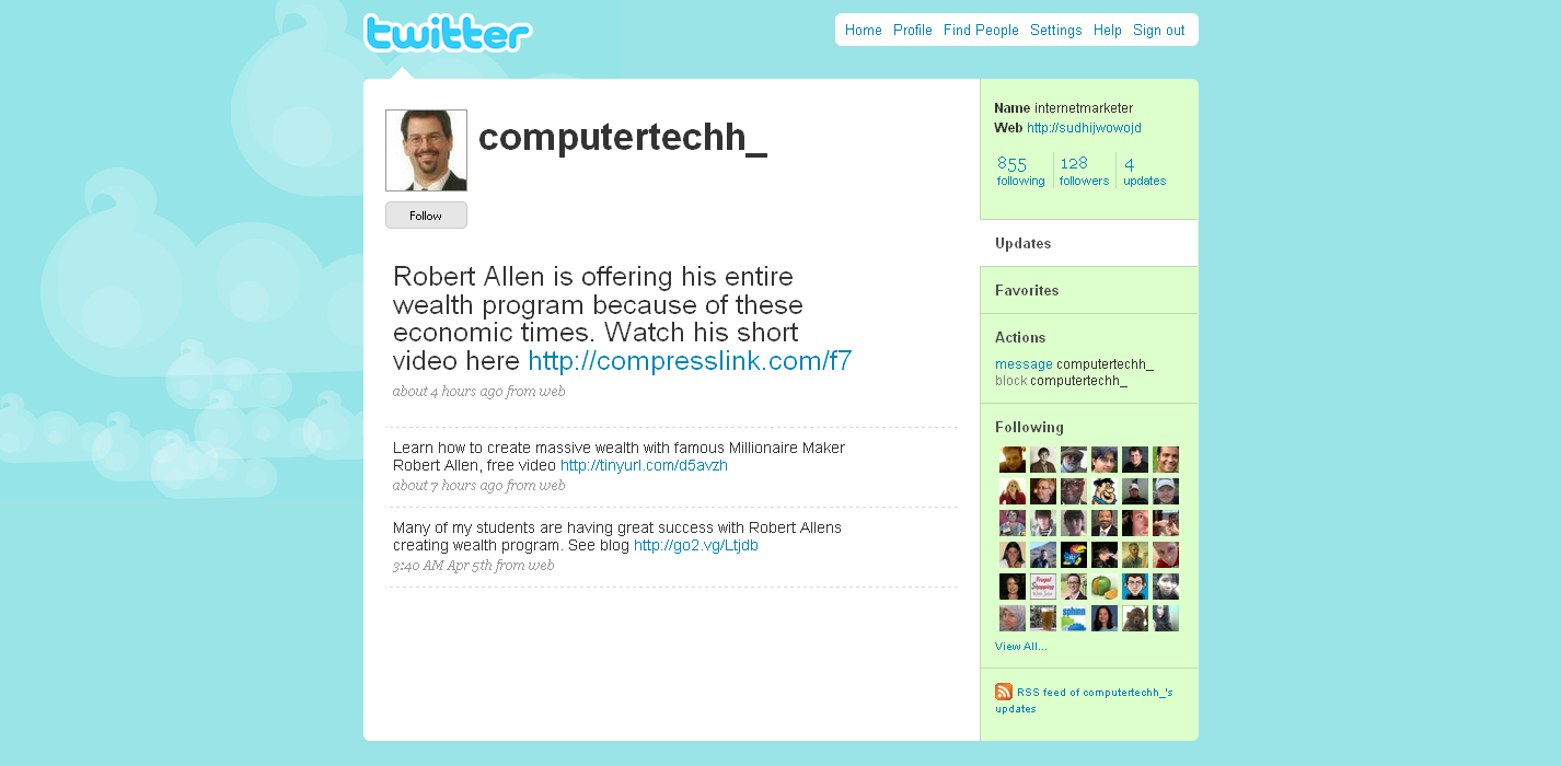 Computertechh_ Twitter Profile